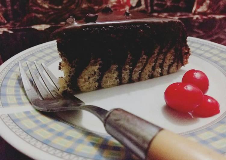 🍰Rice cooker zebra strips cake