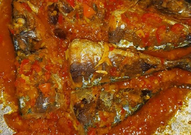 Pesmol ikan kembung pedas asam