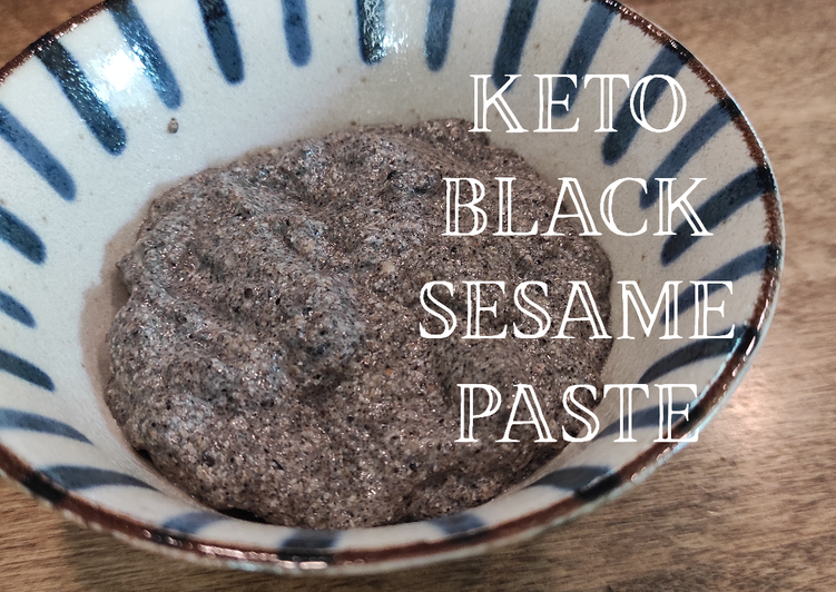 How to Make Tasty Keto Black Sesame Paste