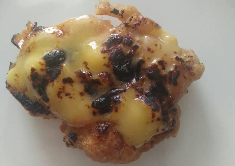 Ayam Crispy Geprek Mentai Mozarela