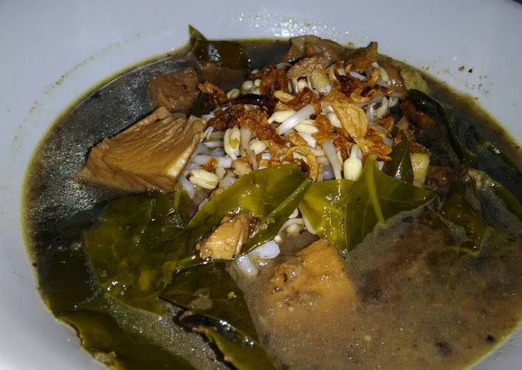 Rawon Ayam Simple