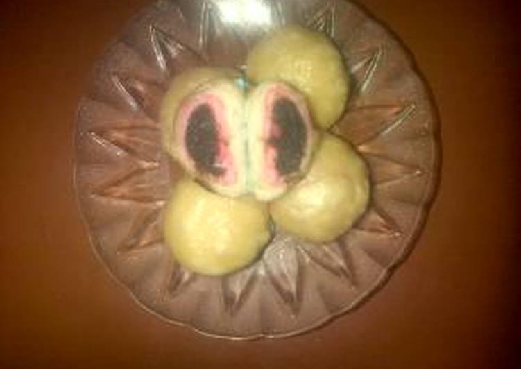 Resep Mini pao beranak isi cokelat Paling Gampang