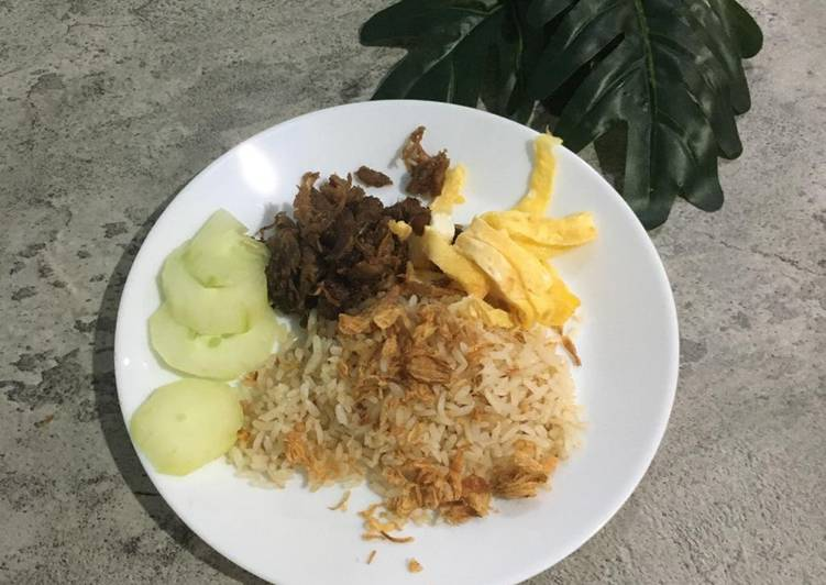 Nasi uduk rice cooker dengan fiber creme - cookandrecipe.com