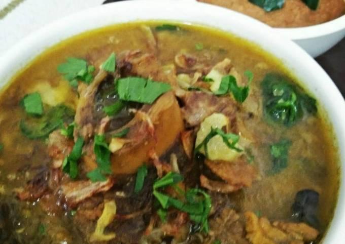 Sup kambing mantul