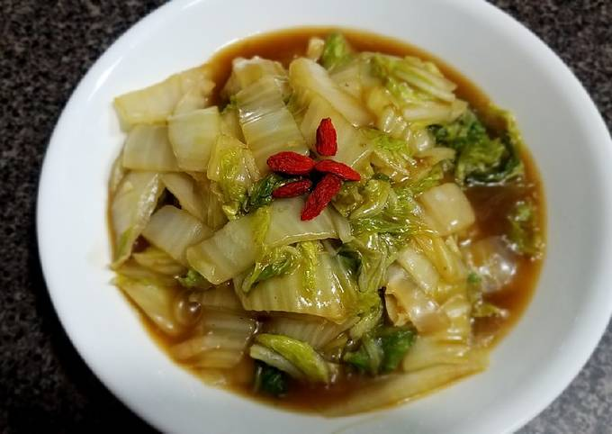 Simple sweet and sour Napa cabbage#mommasrecipes