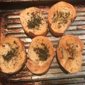 Brusquetas de pan Ideal para la picada
