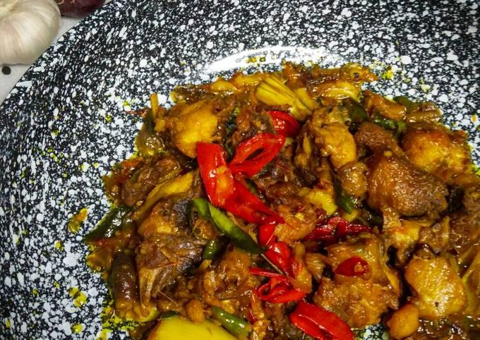 Resepi ayam goreng belado ala thai