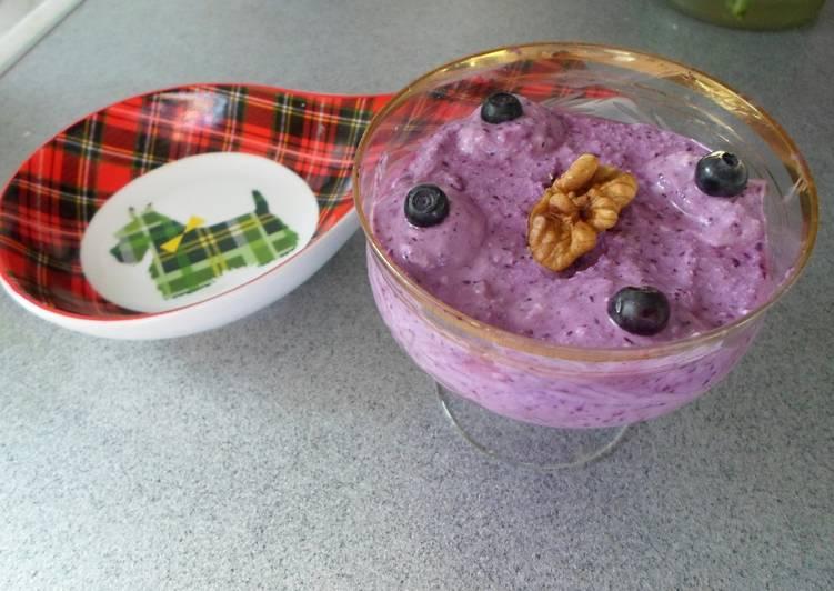 Чернично-творожный десерт - пошаговый рецепт с фото. Автор рецепта ...