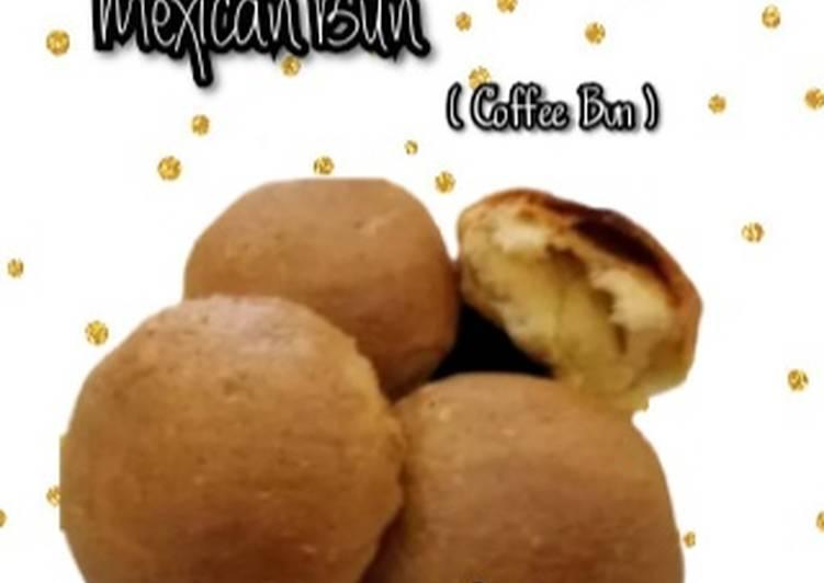 Mexican Bun atau Coffee Bun