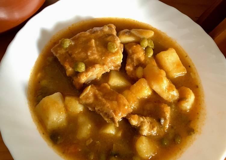 receta de patatas con champinones al ajillo