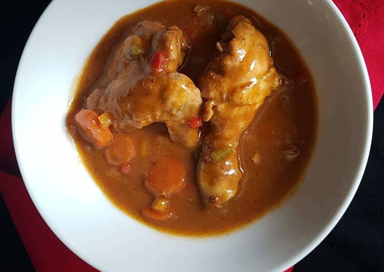 Tasty chicken stew