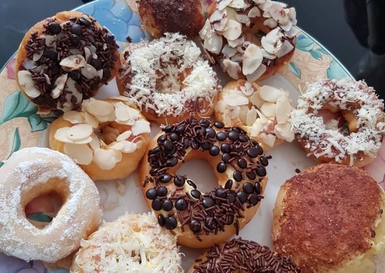 #16 Donat ala JCo rumahan lembut dan crunchy mudah dibuat