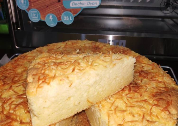 Bolu Hongkong Keju Gluten Free