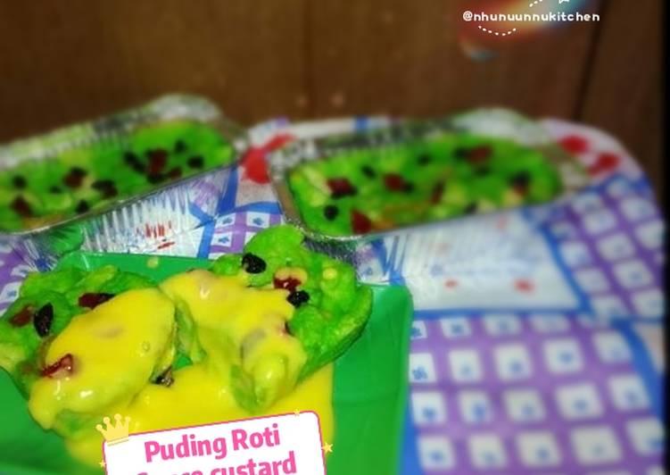 Puding Roti Souce custard - velavinkabakery.com