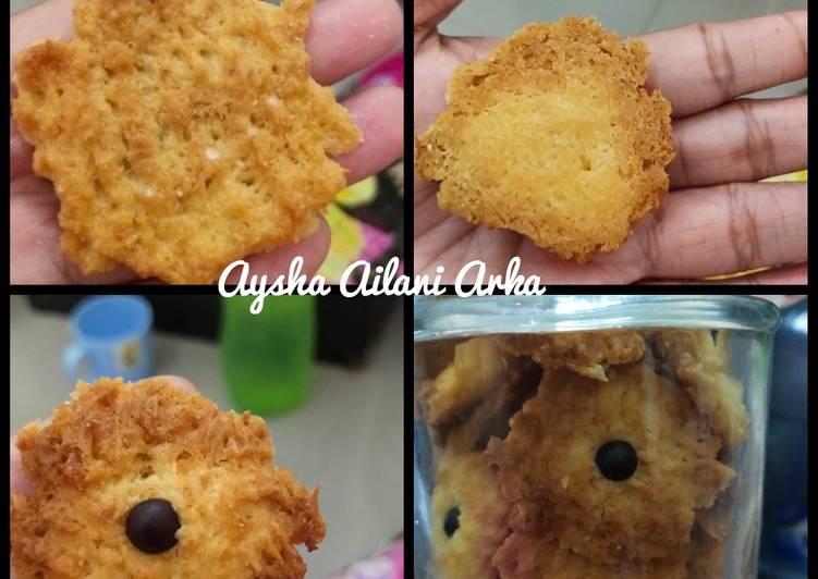 Cookies kelapa chocochips
