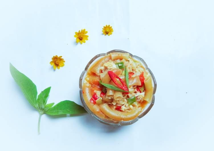 Seblak Mie Telur dan Macaroni