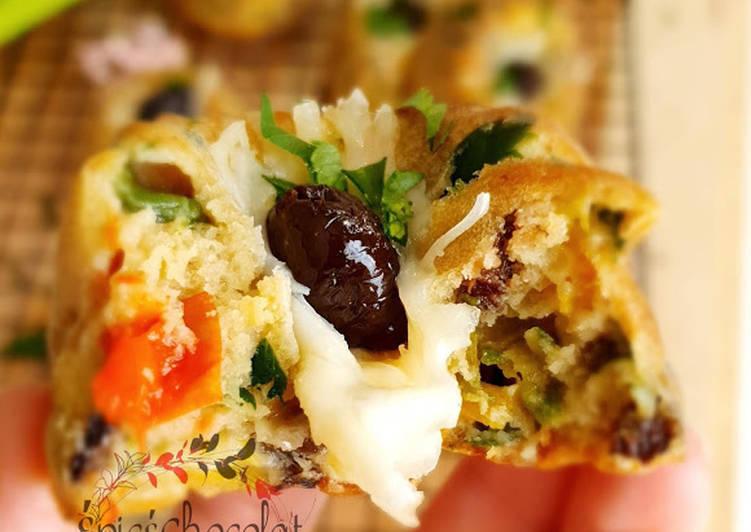 recette Petits moelleux aux legumes Le plus simple