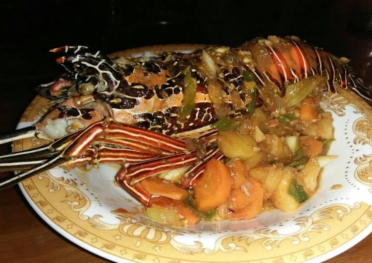 Resep Lobster asam manis Spesial