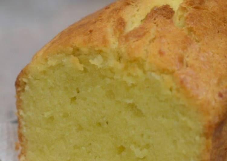 "30 Minute Recipe of Love Sake Lees Pound Cake, a Variation of ""Basic Pound Cake"""