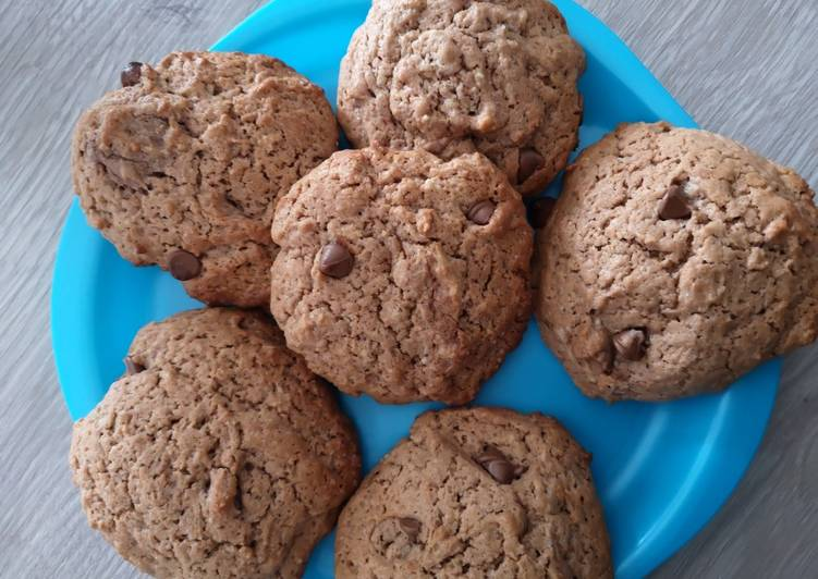 Recette Appétissante Cookies chocolat 🐻