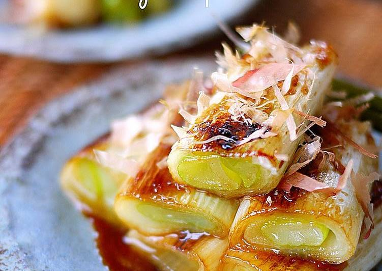 Japanese Leeks with Yuzu Pepper Paste - Laurie G Edwards