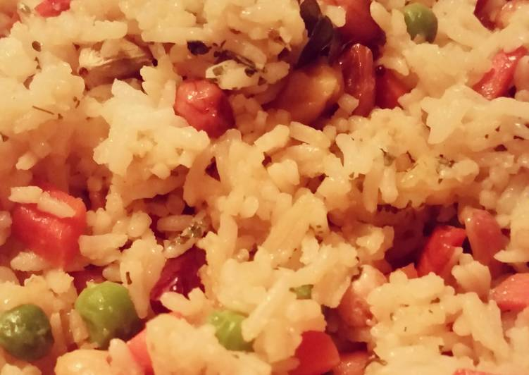 Easiest Way to Make Super Quick Homemade Indian-Style Vegetarian Fried Rice