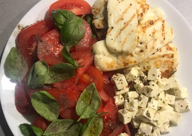 Przekąska pomidorowa z serami główne zdjęcie przepisu