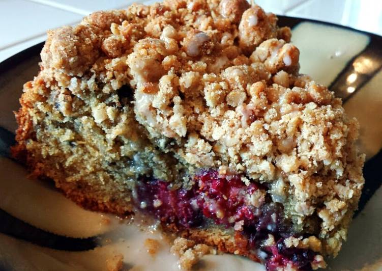 How to Prepare Homemade Ray's' Blackberry Cappuccino Crumb Cake
