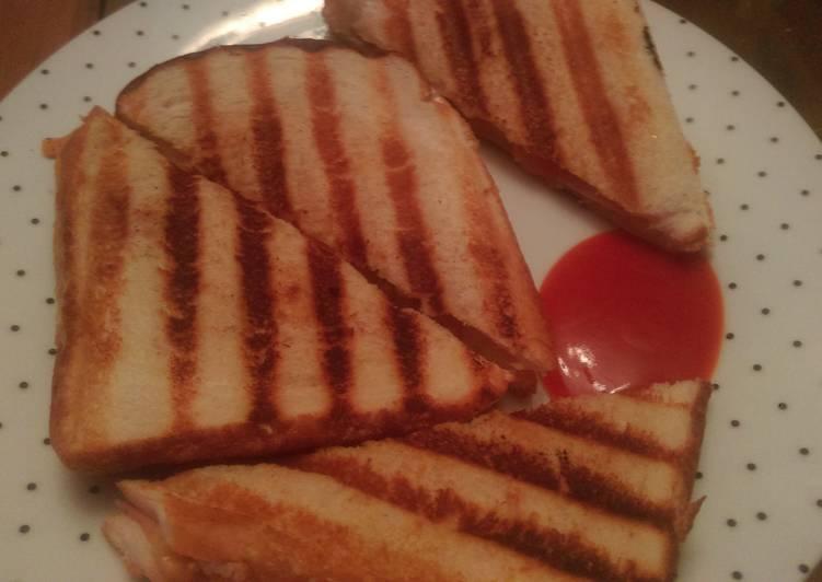 Recipe of Perfect Mandys comfort toastie