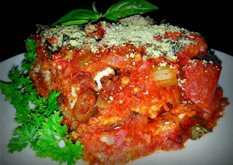 Step-by-Step Guide to Prepare Homemade Mike's Sausage Eggplant Parmesan