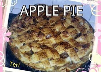 Easiest Way to Prepare Appetizing Teris Apple Pie