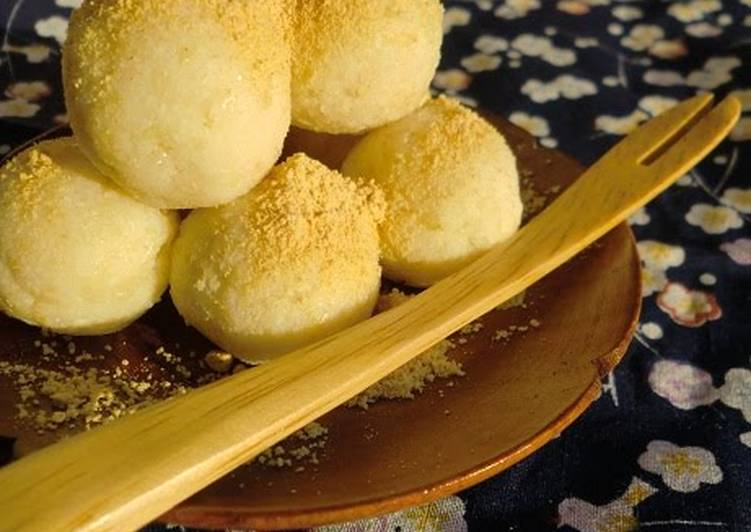 Fiber-Packed Okara Mochi for Dieters - Laurie G Edwards