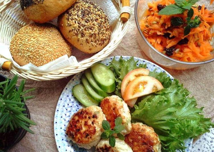 Use Food to Elevate Your Mood Chicken & Tofu patties