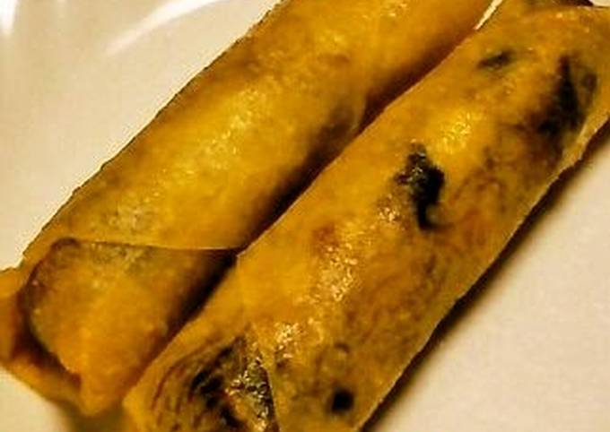 Our Family Recipe for Spring Rolls with Bamboo Shoots