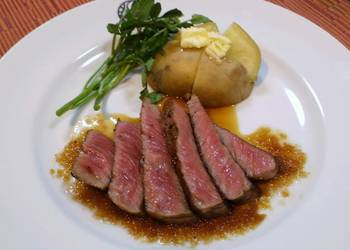 Easiest Way to Prepare Perfect Restaurant Steak at Home