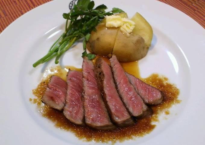 Restaurant Steak at Home