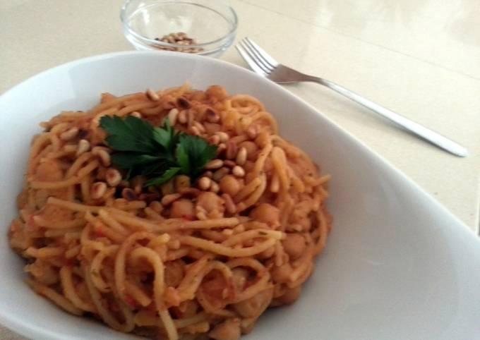 Recipe of Favorite pasta in Chickpeas