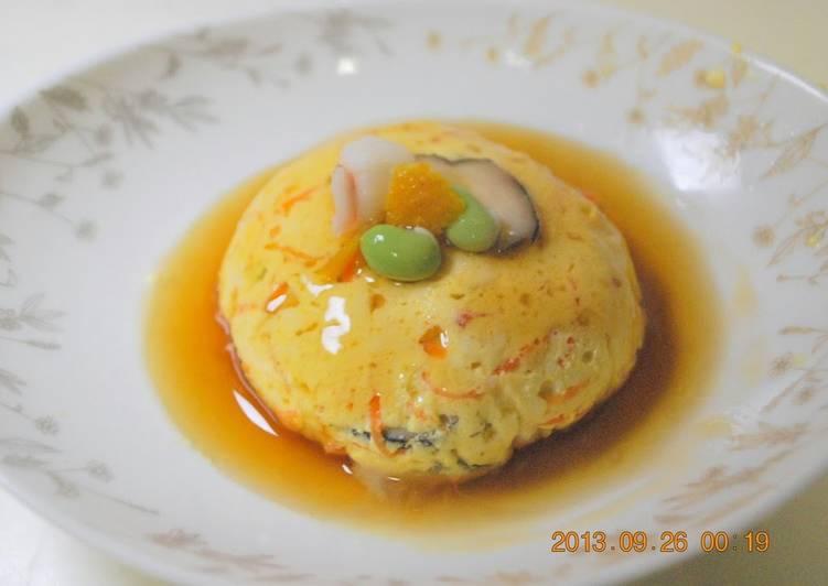 Easy Giseidofu with Tofu and Egg - Laurie G Edwards