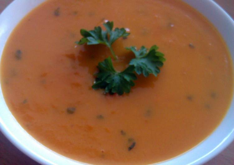 Vickys Carrot & Coriander / Orange Soup GF DF EF SF NF