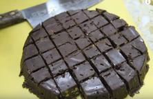 Bánh sô cô la không lò nướng