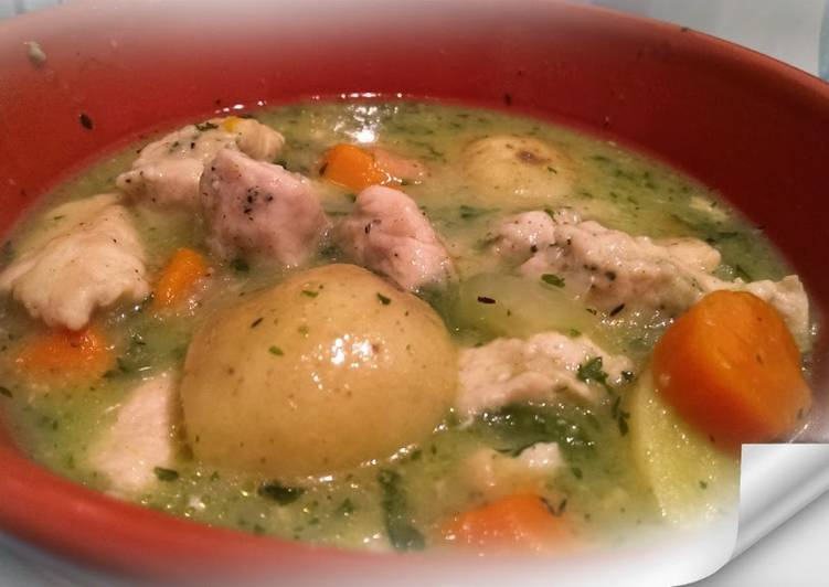 Recipe of Super Quick Homemade Slow Cooker Chicken Stew