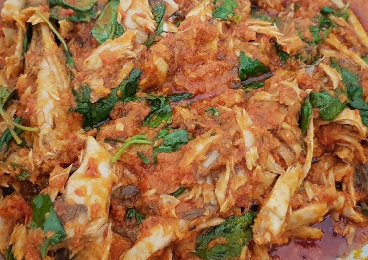 Ikan Tongkol masak Kemangi