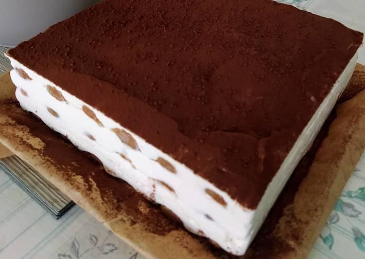 Gâteau façon tiramisu by kaoutar