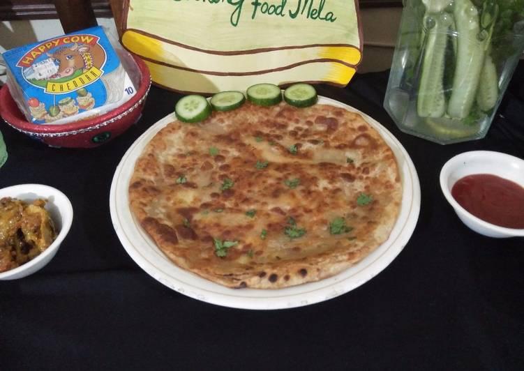 Potato cheese stuffd paratha