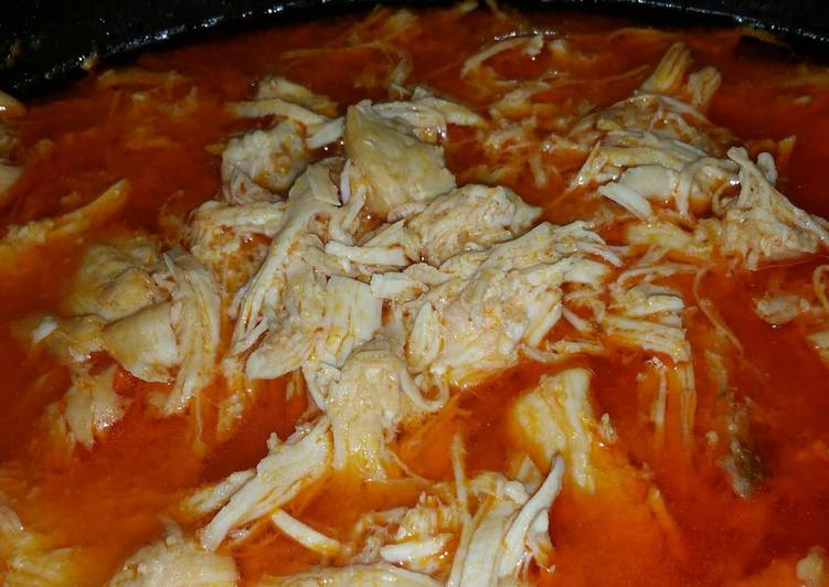 Easy Recipe: Yummy Italian buffalo chicken (low carb)