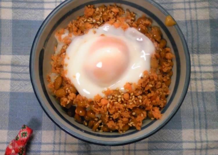 30 Minute Steps to Prepare Speedy Warm and Creamy Egg Natto Rice