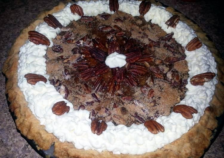 ~Sweet Potato Pie with Pecan Crumble~