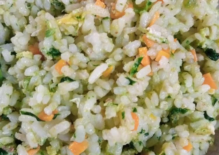 Nasi goreng hijau mbu (ibu)