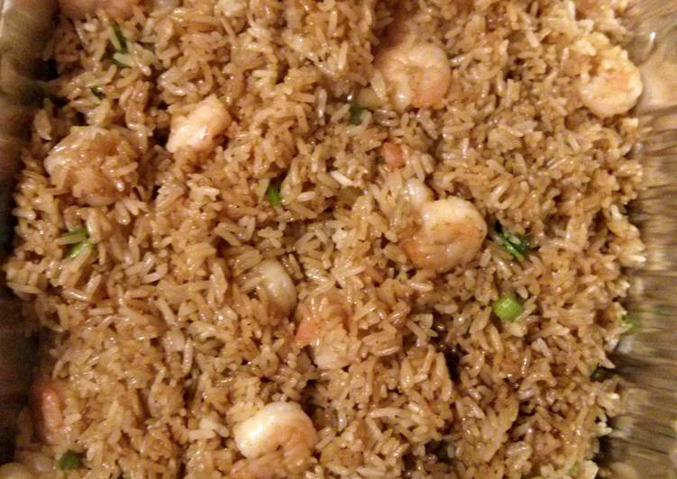Recipe of Perfect Shrimp Fried Rice