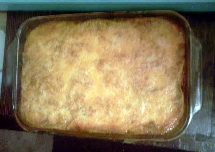 25 Minute Recipe of Any Night Of The Week Easy Peasy Enchilada Bake
